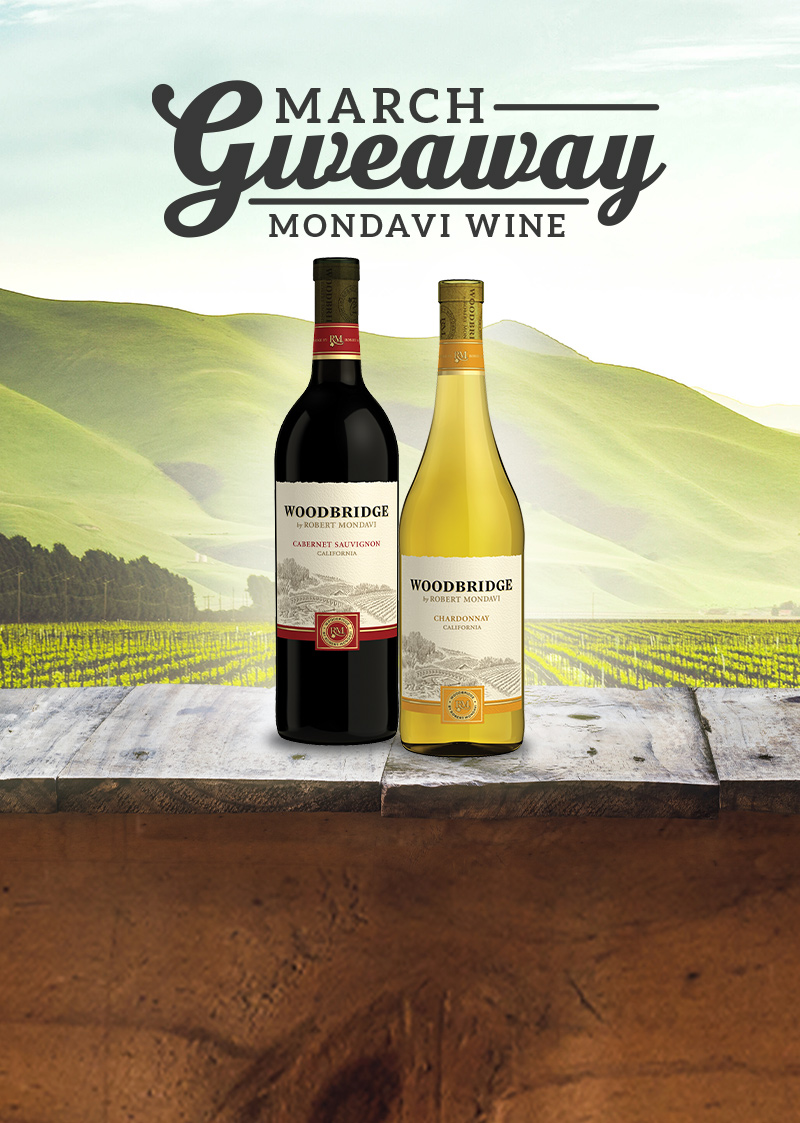 March Wine Giveaway