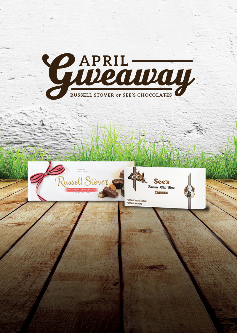 April Candy Giveaway