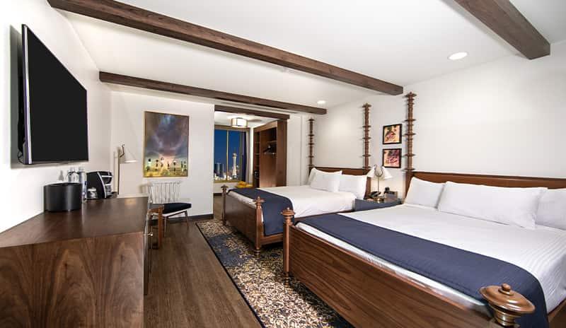 El Cortez Hotel Double Room Suite