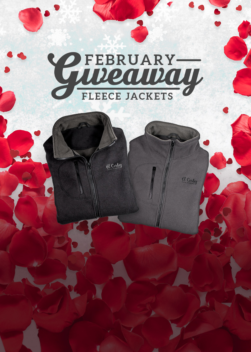 February Zipper Fleece Giveaway